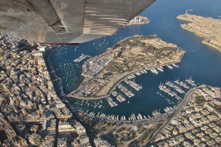 Valetta aerial